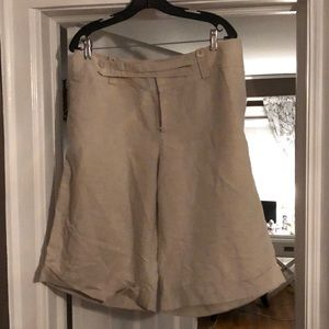 Banana Republic linen Bermuda short
